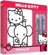 Hello Kitty Canvas Schilderdoos