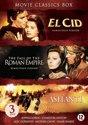 Movie Classics Box : Ashanti - El Cid - Fall Of The Roman Empire