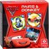 Afbeelding van het spelletje Disney - Cars II - Memospel/zwarte piet (Display)