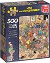Jan van Haasteren De Schaakclub - Puzzel - 500 stukjes