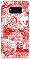 Angel Skull Red