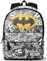 Castillo Batman - Laptop Rugzak - Zwart / Wit