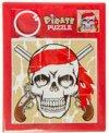 Lg-imports Schuifpuzzel Piraat Revolver 11,5 Cm Rood