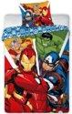 Marvel Avengers - Dekbedovertrek - Eenpersoons - 140 x 200 cm - Multi