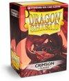 Afbeelding van het spelletje Dragon Shield 100 Box Crimson