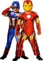 Reversible deluxe Capt. America/Iron Man - Child