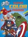 Afbeelding van het spelletje Avengers assemble super color parade