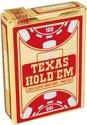 Afbeelding van het spelletje Copag - Plastic Pokerkaarten - Texas Hold'em Gold - Jumbo Index - Red