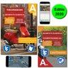 Theorieboek Scooter - Brommer AM + 12 uur online theorie examens