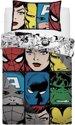 Marvel Avengers eenpersoons dekbed - dubbelzijdig dekbedovertrek