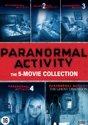 Paranormal Activity 1 t/m 5 Boxset
