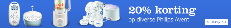 20% korting op diverse Philips Avent