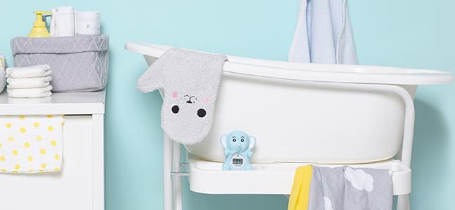 Lekker badderen met je kleintje