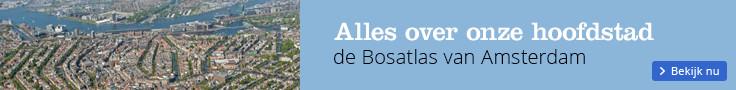 Alles over onze hoofdstad de Bosatlas van Amsterdam