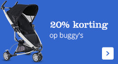 20% korting op alle buggy's