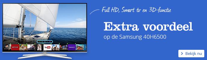 Extra voordeel op de Samsung 40H6500
