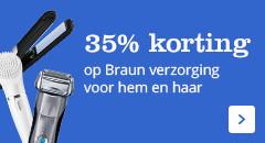 35% korting op Braun haarverzorging voor hem en haar