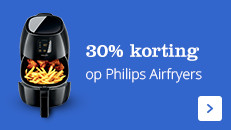 30% korting Philips airfyer