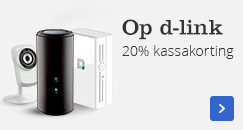 20% kassakorting   op D-Link