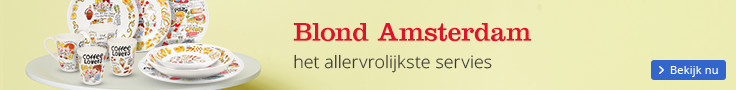 Blond Amsterdam het allervrolijkste servies