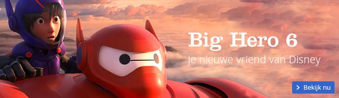 Big Hero 6 je nieuwe vriend van Disney