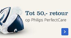 Tot 50,- retour op Philips PerfectCare