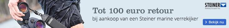 Tot 100 euro retour | bij aankoop van een Steiner marine verrekijker