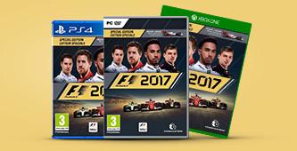 Reserveer nu F1 2017