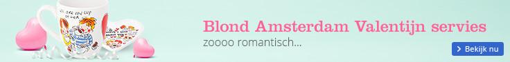 Blond Amsterdam Valentijn servies zoooo romantisch ...