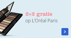2 plus 2 gratis op l'oreal paris