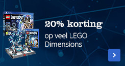 20% korting op alle lego dimensions
