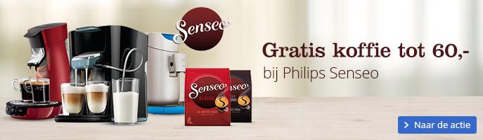 Gratis koffie tot 60,- | bij Philips Senseo
