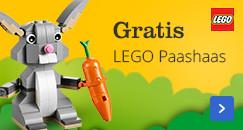 Gratis LEGO Paashaas