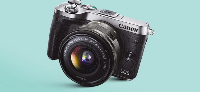Canon EOS M6 Zilver