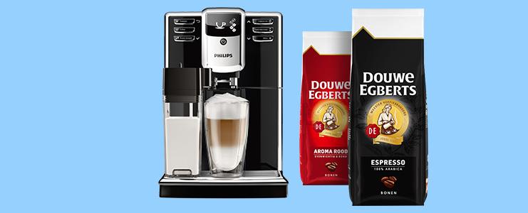 Gratis DE koffiebonen