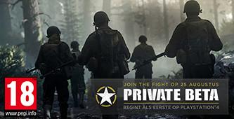 Reserveer CoD: WWII