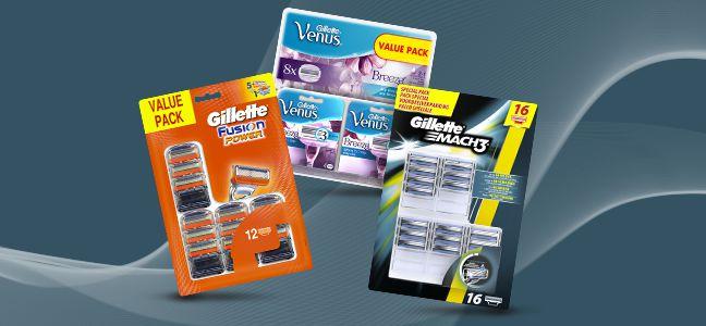 Tot 50% korting op Gillette