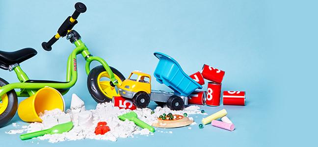 Heel veel speelgoed