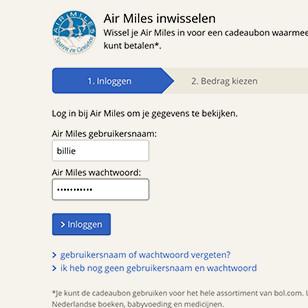 Bol.com airmiles deals