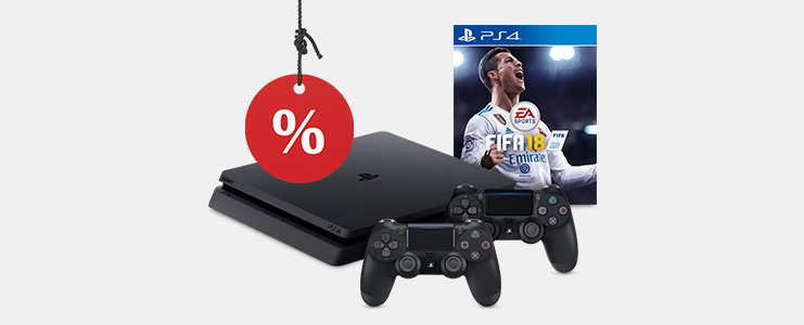 PS4 Slim 1 TB bundel