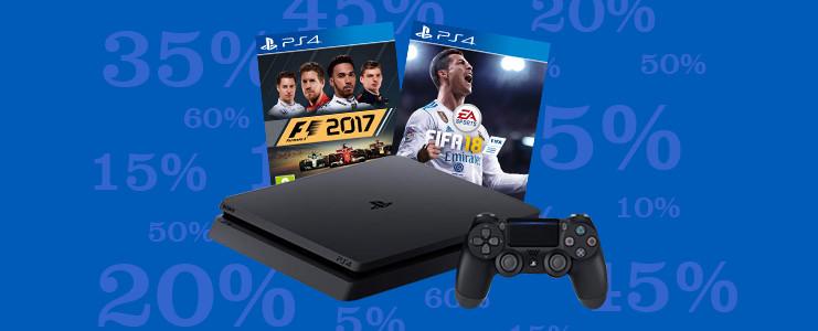 PS4 Slim FIFA 18 bundel