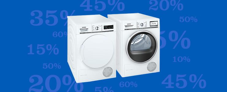 Wasmachines en wasdrogers