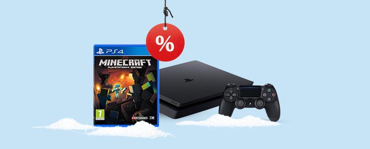 PS4 Slim 500GB Minecraft