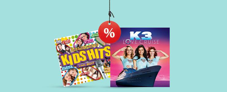 De nieuwste kids-cd's
