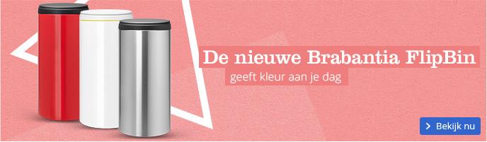 De nieuwe Brabantia FlipBin geeft kleur aan je dag