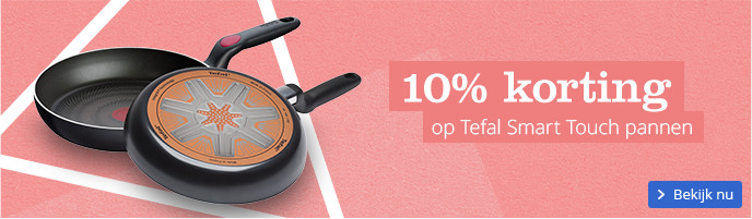 10% korting op Tafel Smart Touch pannen