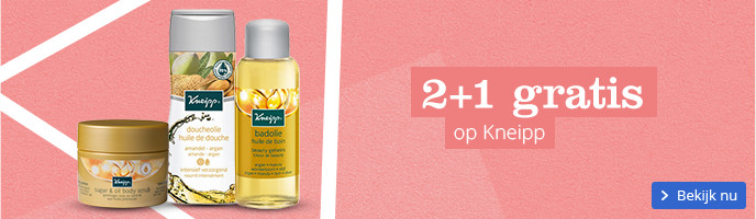 2+1 gratis op Kneipp