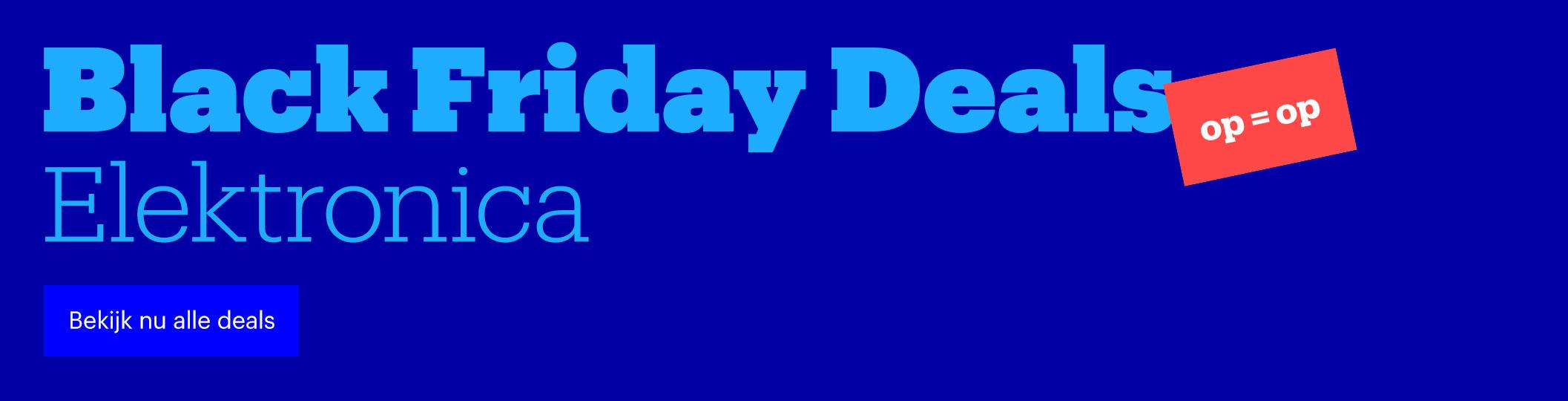 Black Friday deals | Elektronica