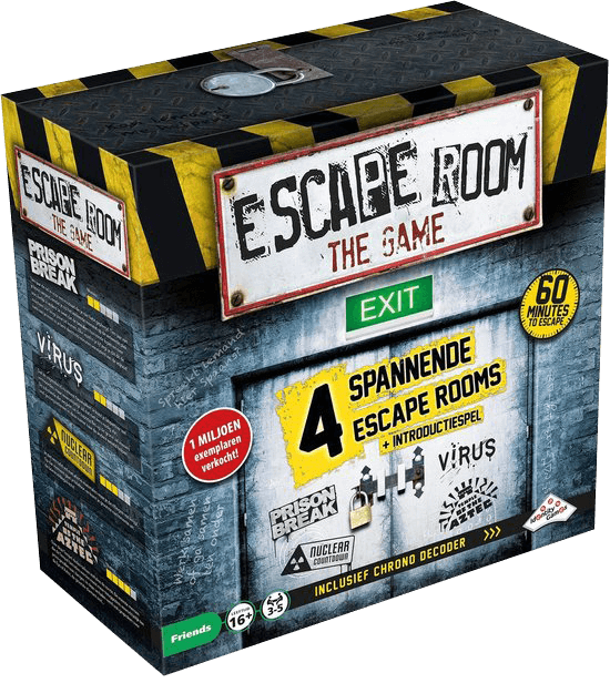 Escape Room The Game basisspel - Gezelschapsspel