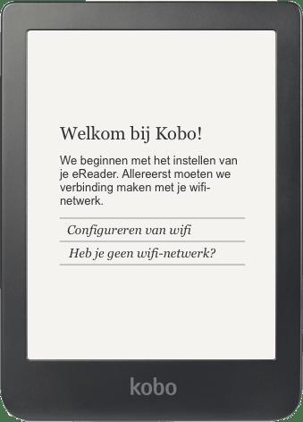 Verbind je Kobo E-reader met Wifi